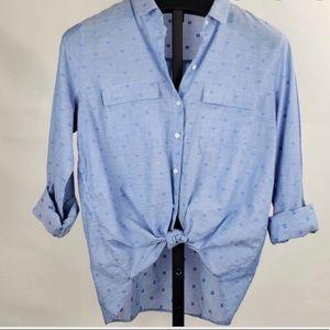 Gap blue buttoned down